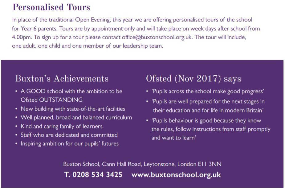 Personalised tours